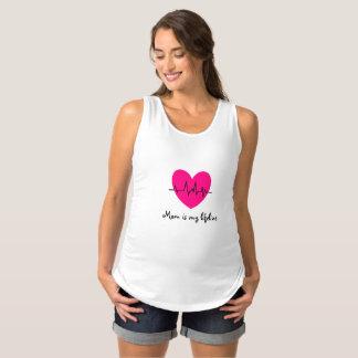 Mamman är min lifeline t-shirt