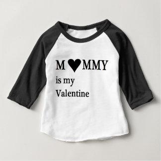 Mamman är mitt valentinbabyspädbarn tröja
