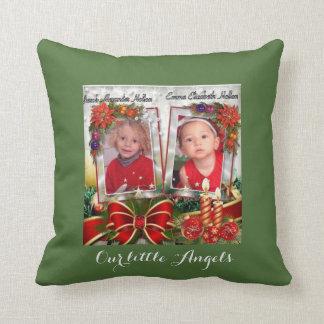 Mamman och pappan älskar som oss, kudder julen kudde