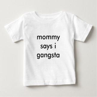 mammanågot att säga mig gangsta t shirt