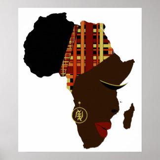 Mammor Afrika Poster