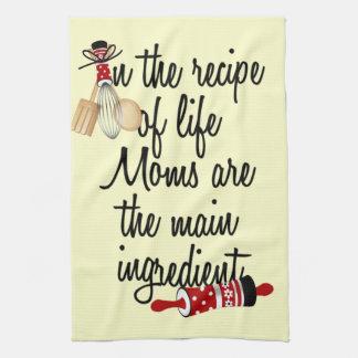 Mammor är den huvudsakliga ingredienskökshandduken kökshandduk