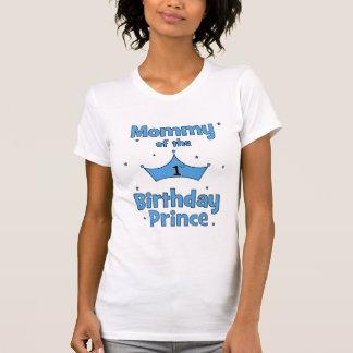 Mammor av den 1st födelsedagprincen! t-shirts