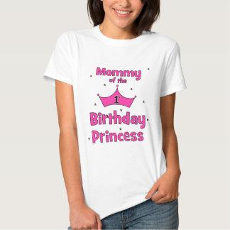Mammor av den 1st födelsedagprincessen! tröja