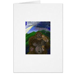 """""""Mammor Bigfoot"""" vid Thomas Finley Hälsningskort"""
