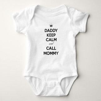 Mammor för för pappabehållalugn och appell t shirt