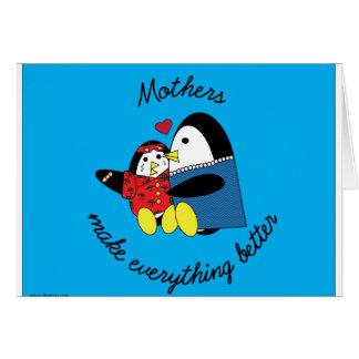 Mammor gör allt det bättre kortet hälsningskort