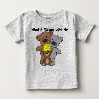 Mammor och mammor älskar mig t-shirts