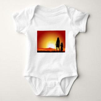 Mammor och solnedgång tröja