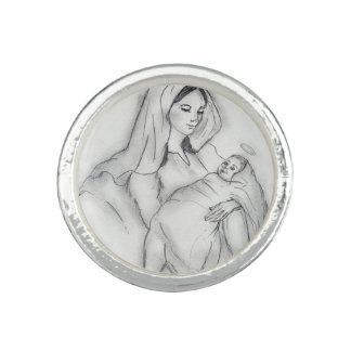 Mammorkärlek Ring
