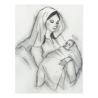 Mammorkärlek Vykort