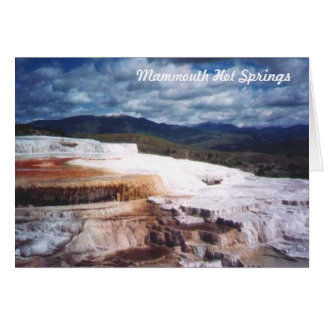 Mammouth Hot Springs OBS Kort
