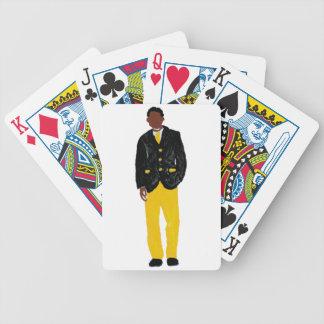 Man - alfabetisk spelkort