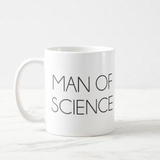 Man av vetenskap kaffemugg