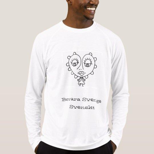 Män: Bevara Sveige Svenskt T-shirt