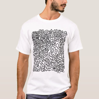 Man fodrar konst t-shirt