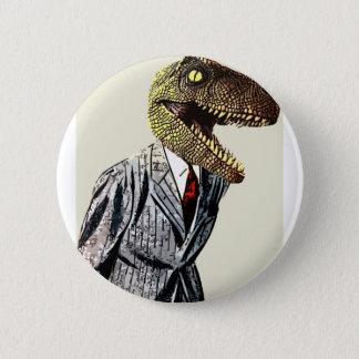 Man för TyrannosaurusRex affär Standard Knapp Rund 5.7 Cm