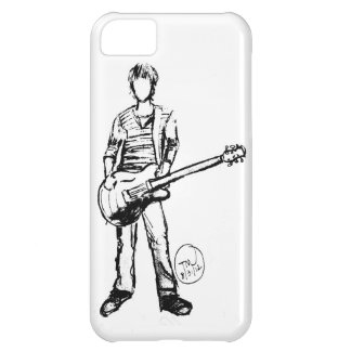 Man med gitarren iPhone 5C fodral
