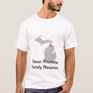 Man skjorta för vitutslagsplats t shirt