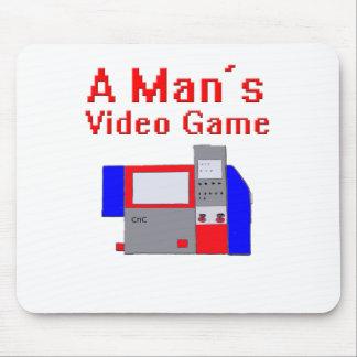 Man videospel musmatta
