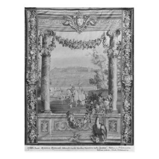 Månad- eller royaluppehåll tapestry vykort
