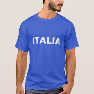 Manar blått och vit ITALIA Tröja