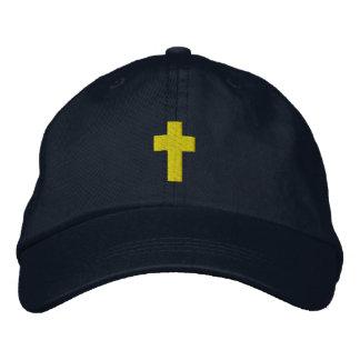 Manar broderad hatt för kristen kor
