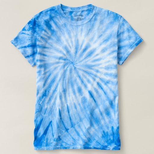 Herr Cyclone Tie-Dye T-Shirt, Royal