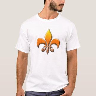 Manar design för Fluer De Lis skjorta T Shirt