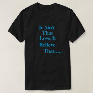 Manar det Aint att blk-/himmelblåttT-tröja T Shirt