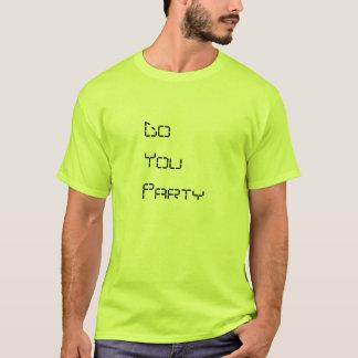Manar festar du toppet ljust - den gröna T-tröja T-shirt