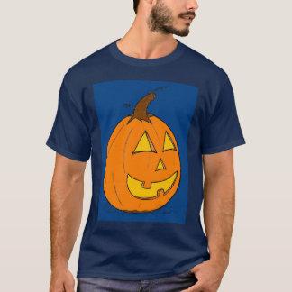 Manar för blått för jackolykta mörka T-tröja Tee Shirts
