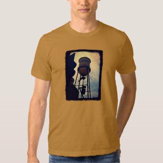 Manar för Campbell CA vattentorn T-tröja T-shirts