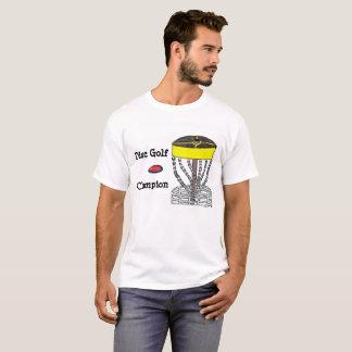 Manar för diskettGolfmästare t-skjorta T Shirt