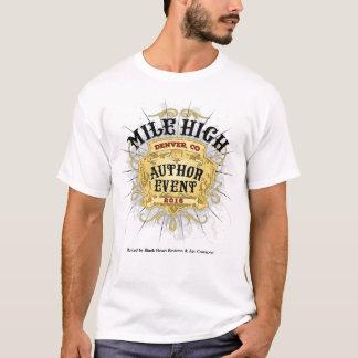 Manar för händelse för Milekickförfattare T-tröja T-shirt