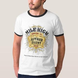 Manar för händelse för Milekickförfattare T-tröja Tee Shirt