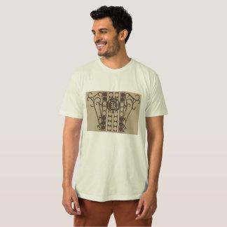 Manar för IRONWORK SCROLLWORK 2 organ för dräkt T-shirts