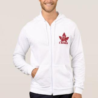 Manar för jacka för Kanada flaggaHoodie Kanada