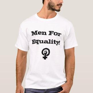 Manar för jämställdhetskjorta t shirts