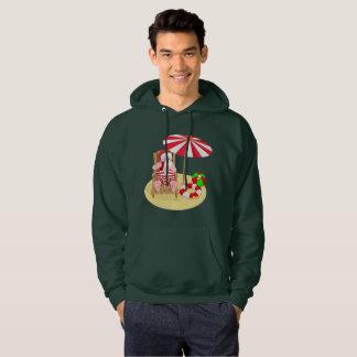 manar för julaftonstrandjultomten hooded tröja