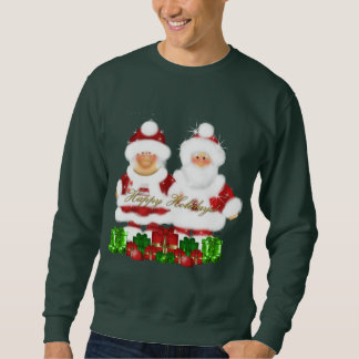 Manar för julSanta helgdag tröja