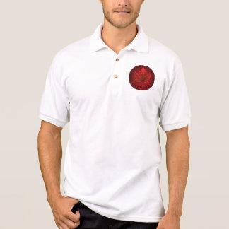 Manar för Kanada för skjorta för Polo för Kanada Polo Tröja
