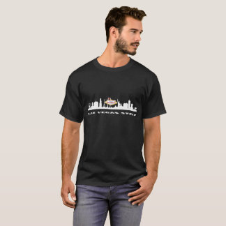 Manar för LAS VEGAS REMSAFÖDELSEDAG mörka T-tröja T-shirts