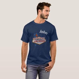 Manar för personligLas Vegas födelsedag mörka T Shirts