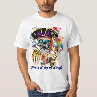 Manar för piratkontrabanddagar som all stilar t-shirts