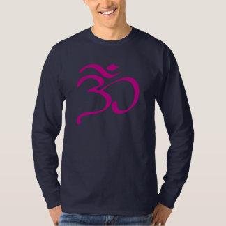 Manar för symbol för buddistOm (Aum) T-tröja för Tee Shirts