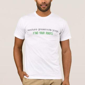 Manar för Ventura gräsrotYoga T-tröja T-shirt