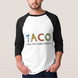 Manar grundläggande 3/4 T-tröja för sleeveTACO, T Shirt