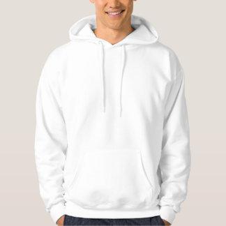 Manar grundläggande hooded tröja - bakre logotyp