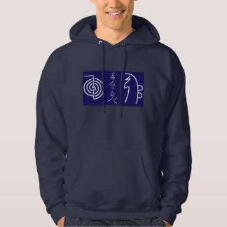 Manar grundläggande Hooded tröja Reiki